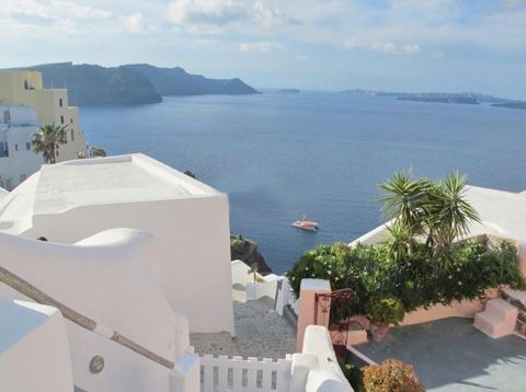 Cave house at Caldera, Uniquely built based on traditional Santorini architecture inside the Caldera rock, this Suite can accommodate up to 6 guests. With an outdoor heated Jacuzzi on the upper floor over viewing the Aegean Sea and the volcano, three...