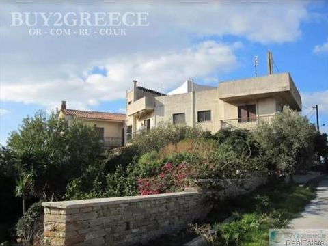 B1102 - FOR SALE DETACHED HOUSE 220sqm, 3 BEDROOMS, UNLIMITED VIEW,THE HOUSE IS NEAR THE PORT (5MIN BY FOOT OR 2MIN BY CAR)-THE SUPER MARKET-PHARMACY-CAFE-THE BEACH IS 10MIN BY FOOT, MARMARI-N.EUBOEA::Fireplace - Storeroom - Ventilation/Air Condition...