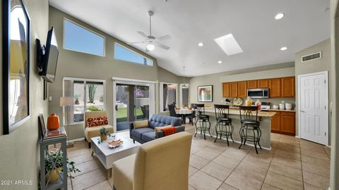 Looking for the best priced, gated, 4 bed 2 bath home in North Scottsdale? You have found it! This nearly 2,000 SF home has it all. Situated on a private (read: no back neighbors), north/south lot. Infrastructure upgrades galore: HVAC & ROOF (2016) a...