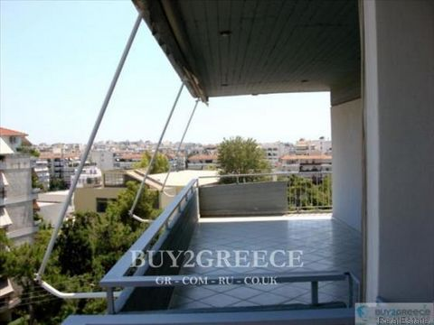 858 - FOR SALE APARTMENT OF 125sqm, UNRESTRAINED VIEW, BIG BALCONY OF 110sqm, BRIGHT, AIRY, NATURAL GAS HEATING, VIDEO DOOR PHONE, OPEN PARKING, NEXT TO TRAM AND BUS STATION, KOPSACHILA, PALAIO FALIRO - ATTICA::Near Bus Stop - Settlement - Parking Lo...