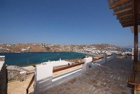 Newly built mesonette 200 sqm in a unique location, close to Chora and walking distance by the sea. It has 5 bedrooms, pool, big balcony with great sea view.