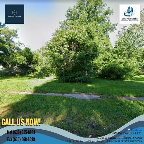 Located in Springfield. Parcel Number: 22-03.0-427-038 Property Address: S 16th St, Springfield, IL 62703, USA County: Sangamon Lot: 4878.72 sq ft Type: Vacant Land Market Value: $4,167.00 Deed will be transferred as a SPECIAL WARRANTY DEED. Forms of...