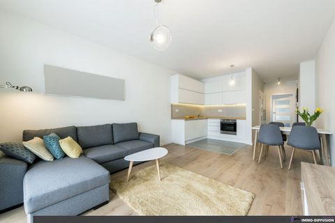 Mandate N°FRP132896 : Apart. 2 Rooms approximately 39 m2 including 2 room(s) - 1 bed-rooms - Balcony : 10 m2, Sight : Dégagée. Built in 2022 - Equipement annex : Balcony, Garage, digicode, double vitrage, ascenseur, - chauffage : electrique - More in...