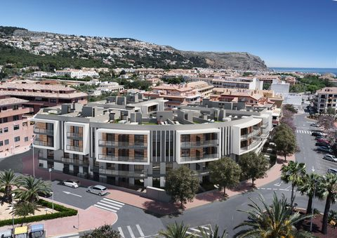 ESSENTIAL: APARTMENTS FOR SALE, IN A RESIDENTIAL AREA WITH ALL SERVICES, JÁVEA / XÀBIA, ALICANTE, COSTA BLANCA Essential is a 74-unit residential complex consisting of 2 and 3 bedroom apartments. All homes are built and finished with top quality mate...