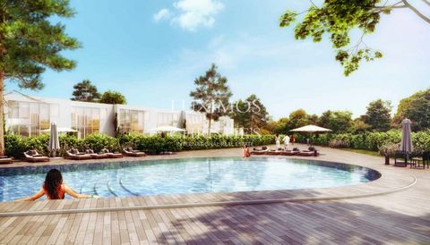 New luxuryvilla in a new real estate development in a private condominiumin Vilamoura . Luxurious property of contemporary design,under construction , with high quality and modern finishings, where the architecture coexists with nature in ...